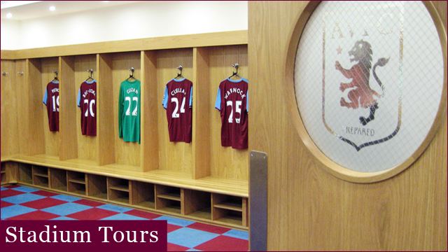 Aston Villa Stadium Tour Prices