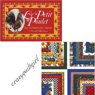 Moda LE PETIT POULET Quilt Fabric by American Jane