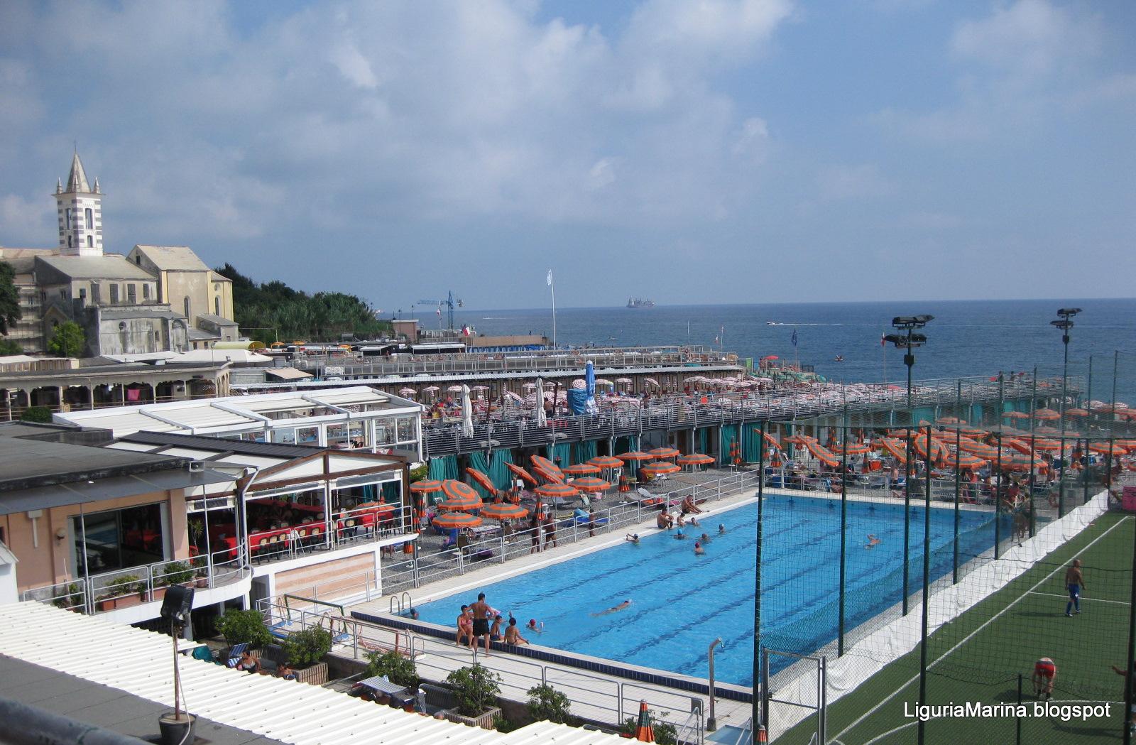 Liguriamarina genova spiagge e mare - Sanitari bagno genova ...