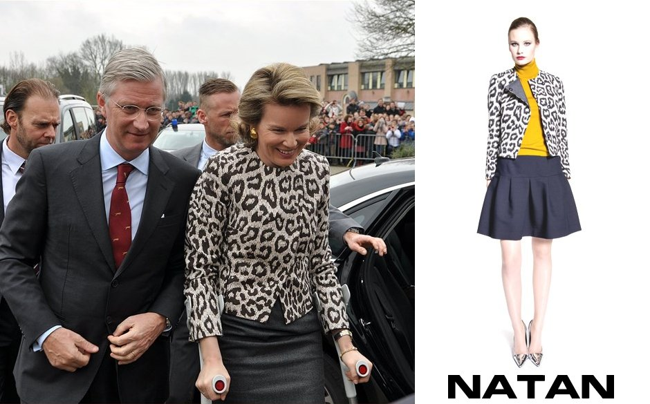 Queen Mathilde wore NATAN Dresses