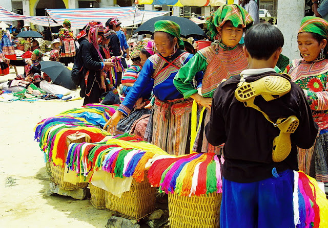 Mercado de Bac Ha, Sapa