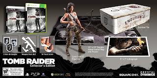 tomb raider collectors edition north america Tomb Raider   Collector's Editions Announced