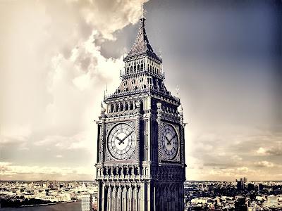 London Big Ben Clock Tower HD Desktop Wallpaper