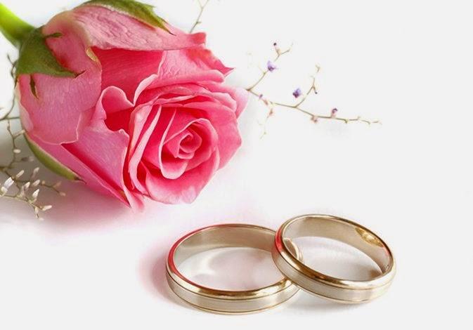 Hukum Menikah Dengan Jin,gambar cincin dan bunga