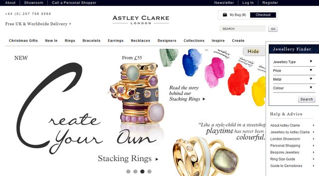 Astley Clarke designs its own exquisite jewellery collections