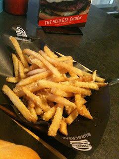 Parmesan Truffle Fries at the BurgerBar