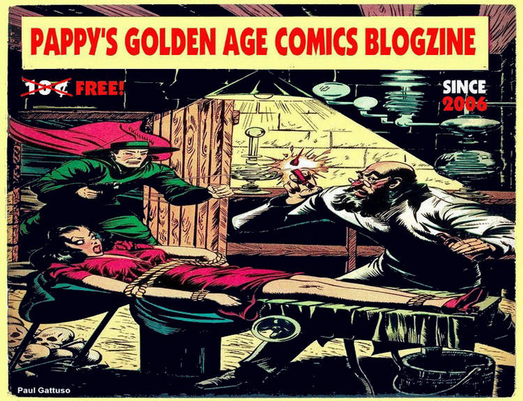 Pappy&#39;s Golden Age Comics Blogzine