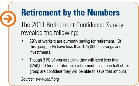 retirement, savings, workers, money