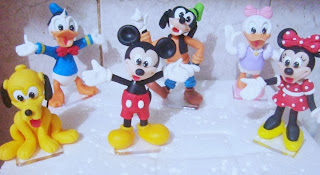 turma do mickey de biscuit