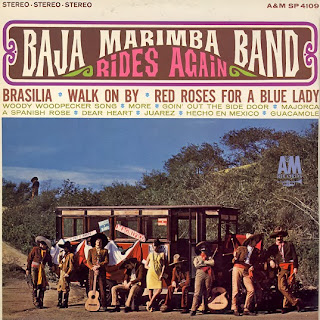 Baja Marimba Band Rides Again LP Cover