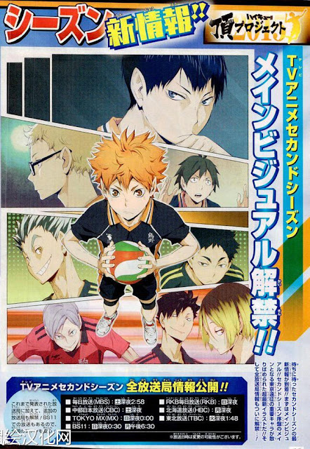 Haikyuu !! Visual