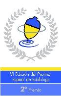 PEONZA DE PLATA EN EL PREMIO EDUBLOG 2012