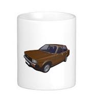 Toyota Corolla DX E70 mug muki