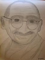 http://divyeshlappawalaartgallery.blogspot.com/2012/11/mahatma-gandhiji-sketch.html