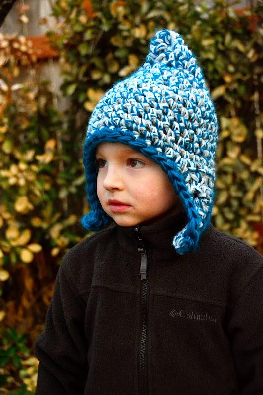 Aesthetic Nest: Crochet: Triple Strand Earflap Hat Tester Roundup