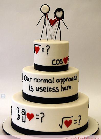 Maths Birthday Cakes