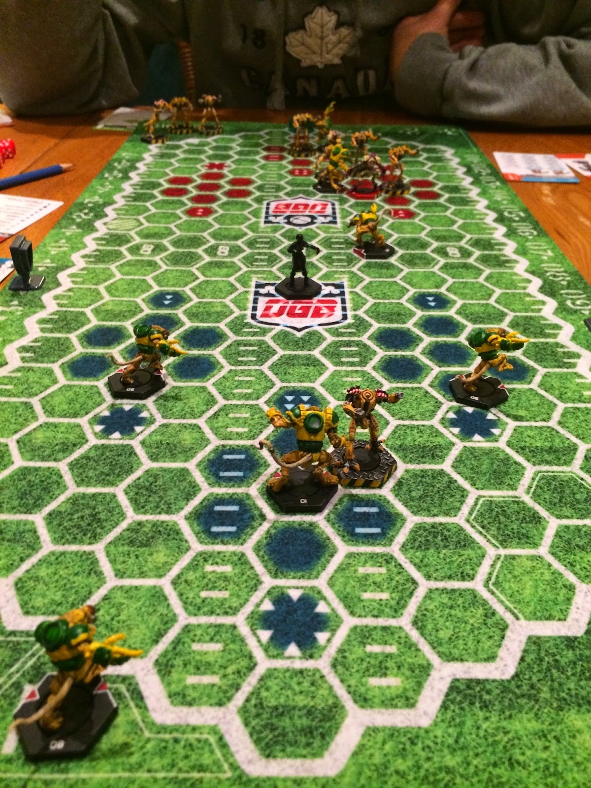 Board Games Minis And More Dreadball League Update Jan