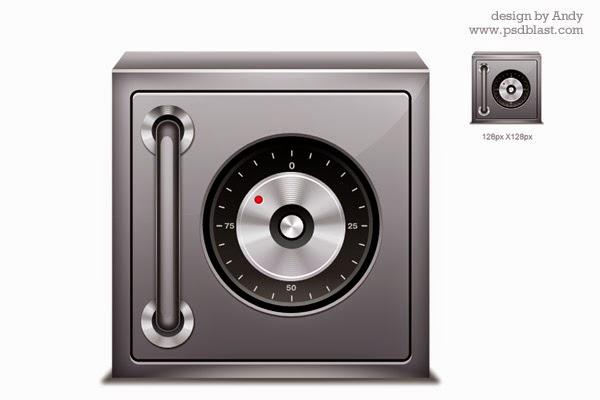 Safe Icon PSD