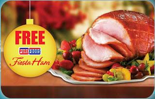 FREE Purefoods Fiesta Ham, Metrobank promo
