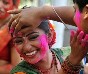Happy dhuleti holi people celebration festival photos