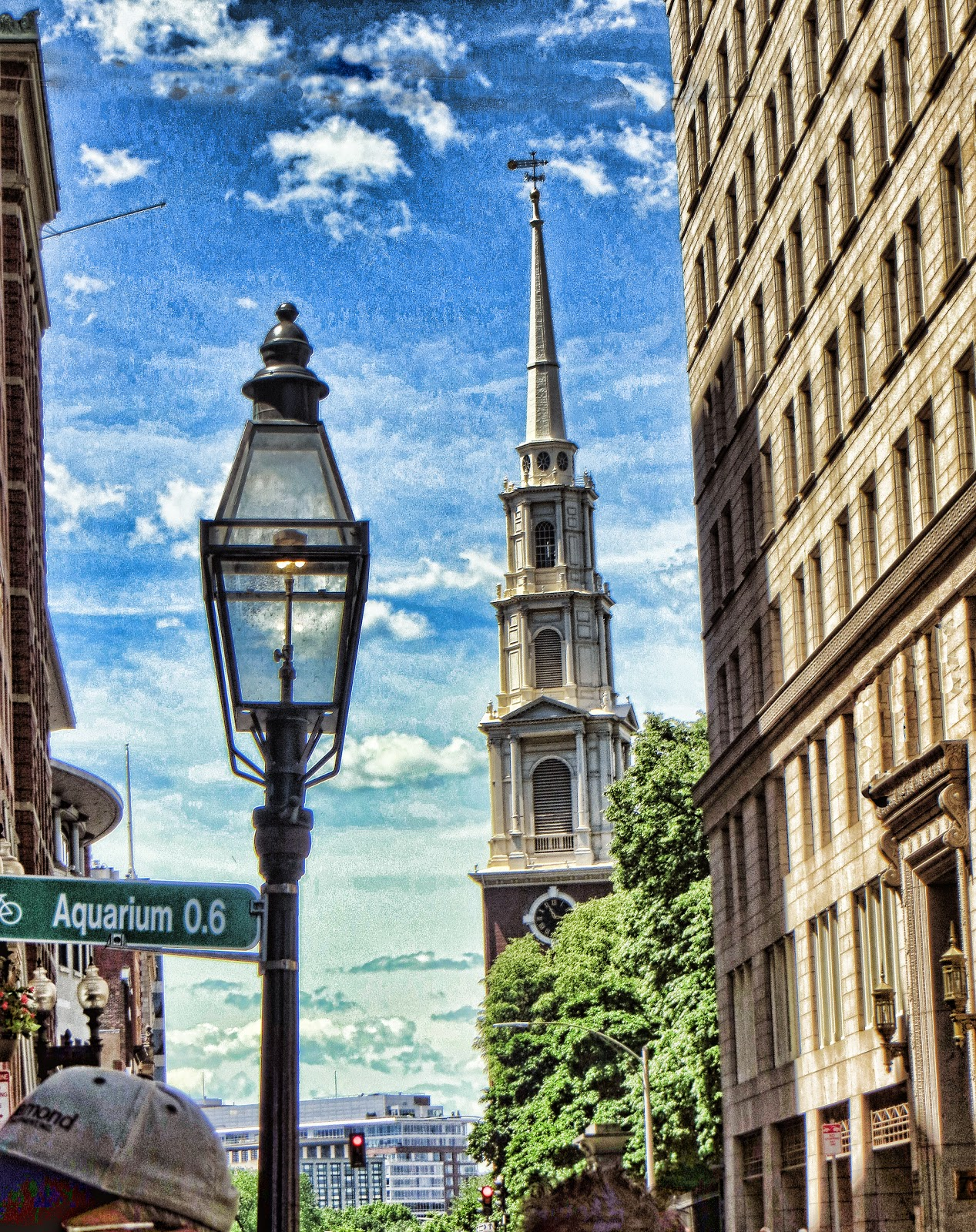 self guide walking tour in boston