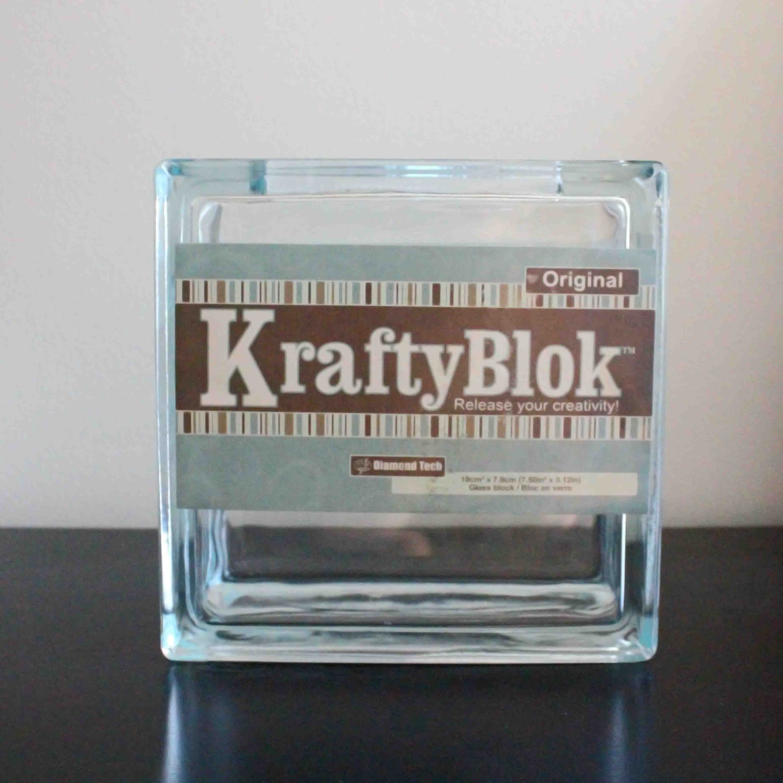 Decorative glass blocks crafts - Sooo I