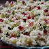 Salata arabeasca cu cuscus, rodie si patrunjel