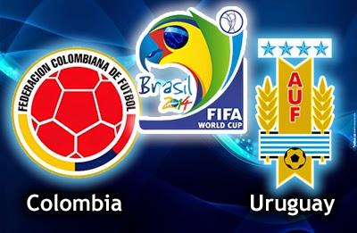 Colombia vs. Uruguay live 2014 FIFA WORLD CUP
