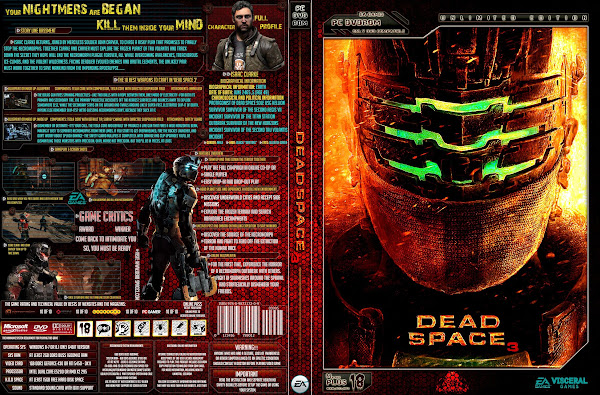 Capa Dead Space 3 Unlimited Edition PC
