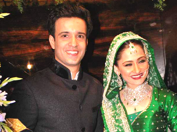 Aamir Ali &amp; Sanjeeda Sheikh&#39;s wedding reception 1 - Aamir Ali &amp; Sanjeeda Sheikh&#39;s wedding reception Pics