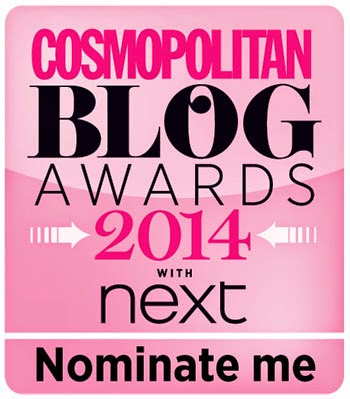 Click here to nominate me for 'best new fashion blog'
