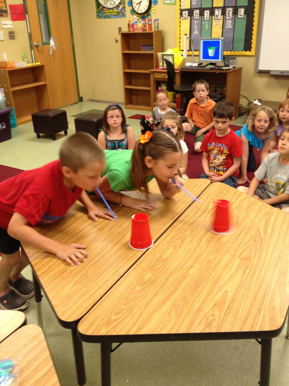 Classroom Game Ideas : Minute to win it games great idea fall festival