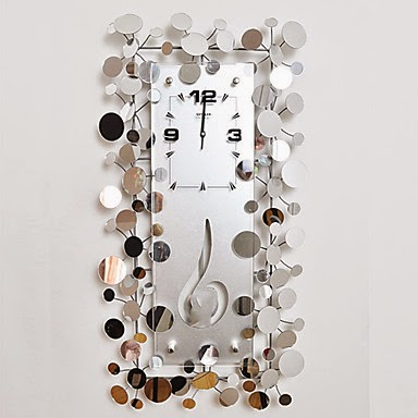 Reloj Espejo de Pared