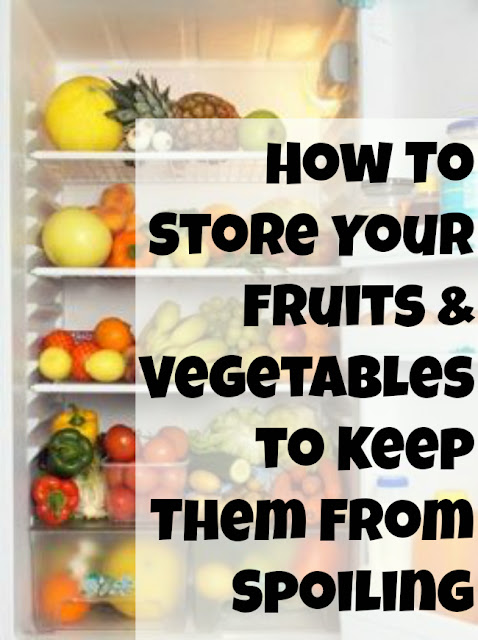 How To Store Fruits and Vegetables to Keep them From Spoiling