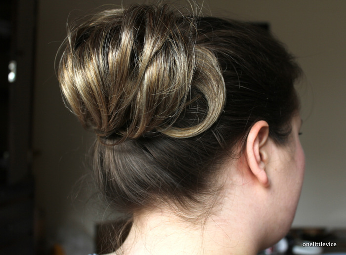affordable false hair piece: one little vice beauty blog