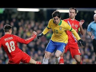 Video Hasil Brazil vs Rusia 26 Maret 2013