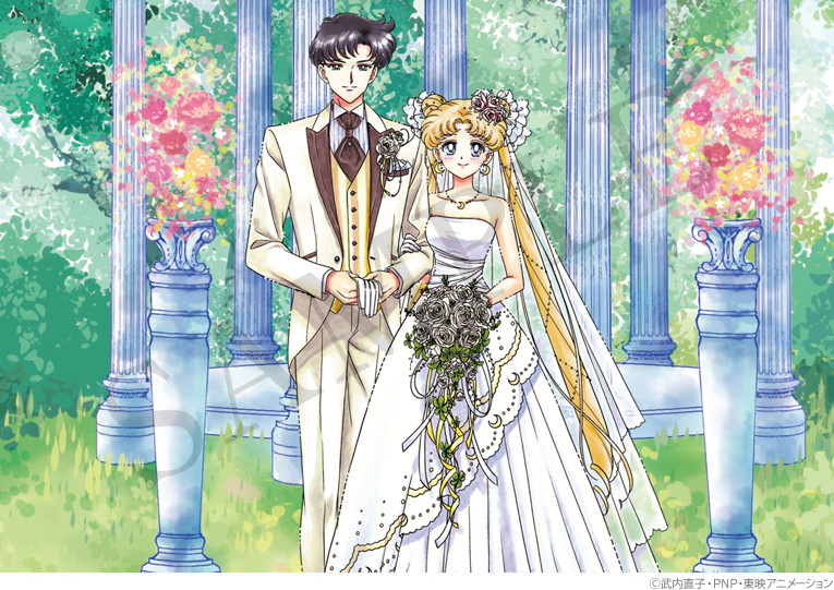 Romance Wedding Design Added To Sailor Moon Marriage