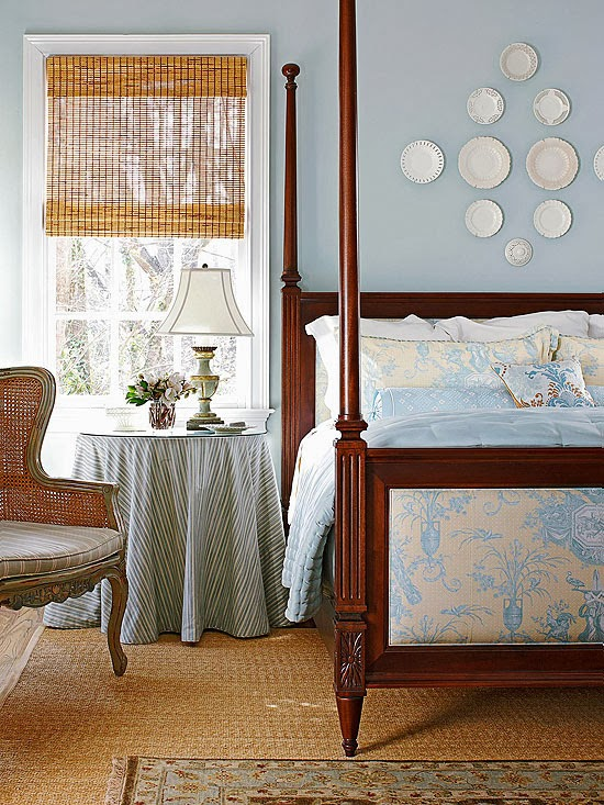 Modern furniture 2014 tips for choosing perfect bedroom - Country blue color scheme ...
