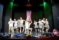 Os alunos de dança de rua da Secretaria de Cultura fizeram parte da festa