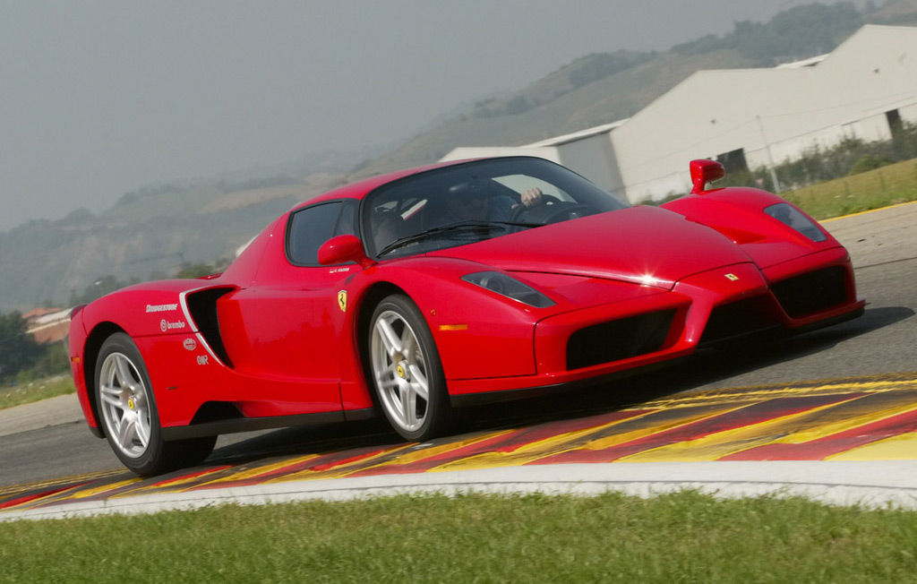 2012 Ferrari F70 Side View