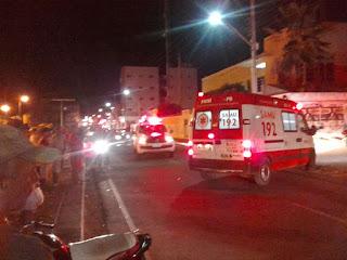 Acidente entre duas motos é registrado na noite dese sábado em Picuí