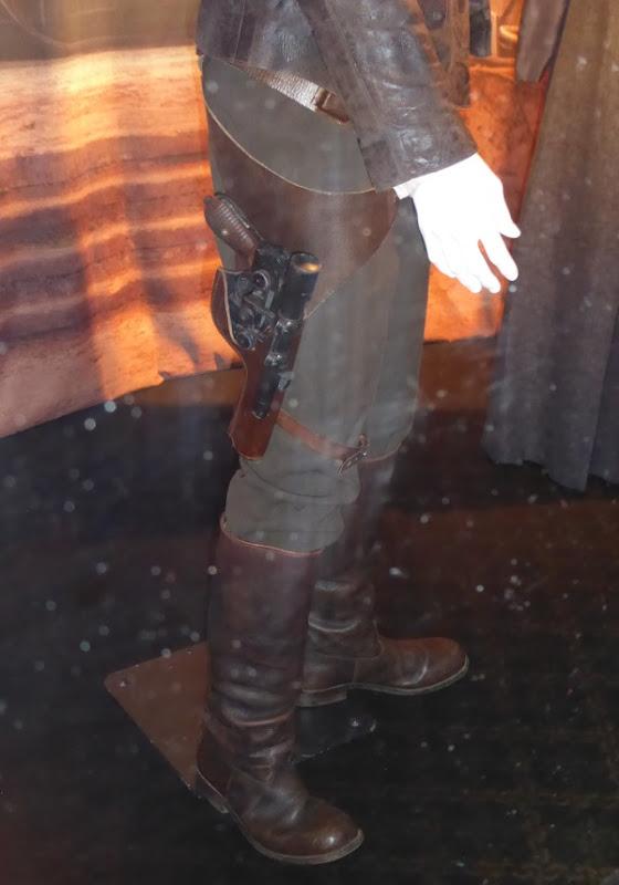 Star Wars Force Awakens Han Solo boots blaster