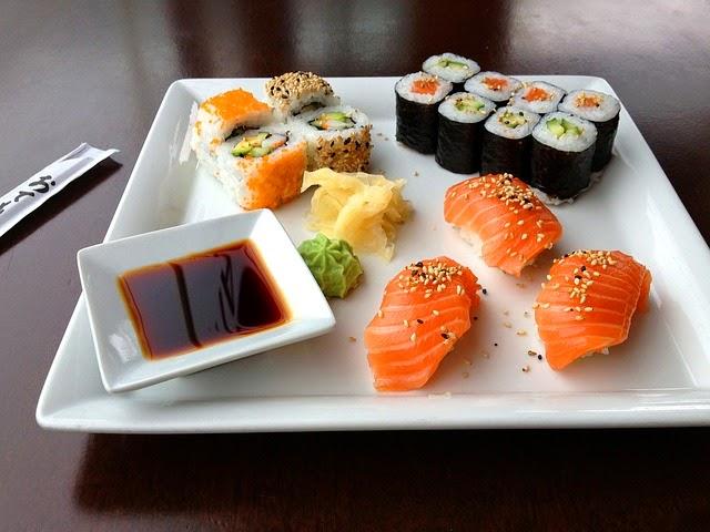 Sushi y niguiri