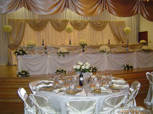 Gold Wedding Decorations