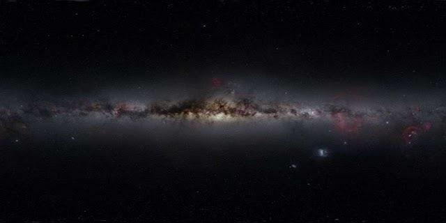 Via Láctea, beleza e poesia