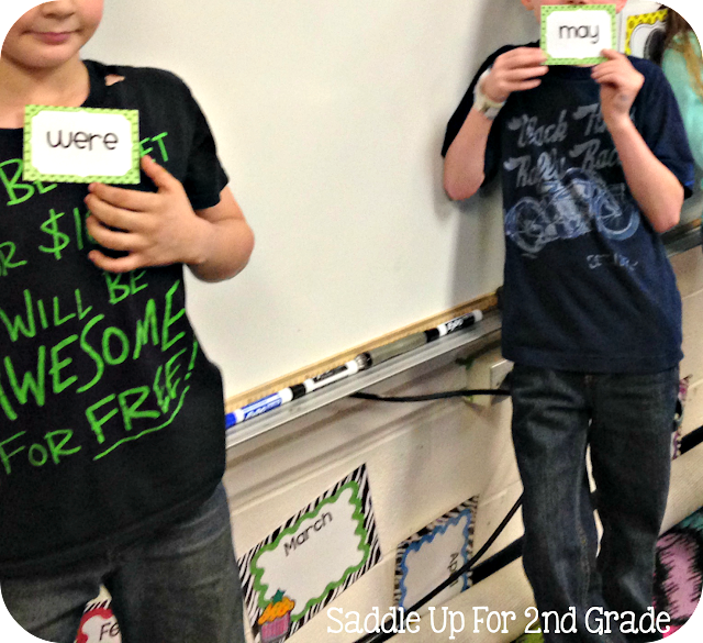 Heads Down, Vocabulary Up by Saddle Up For 2nd Grade