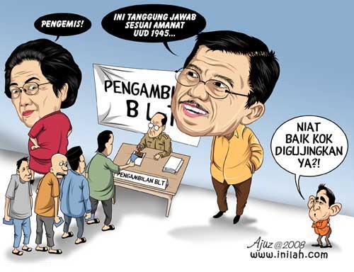 Karikatur BLT
