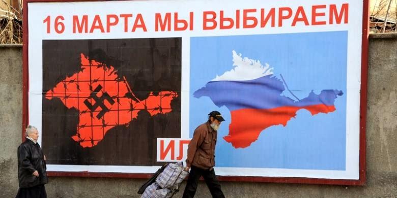 Crimea Menyatakan Kemerdekaannya dari Ukraina