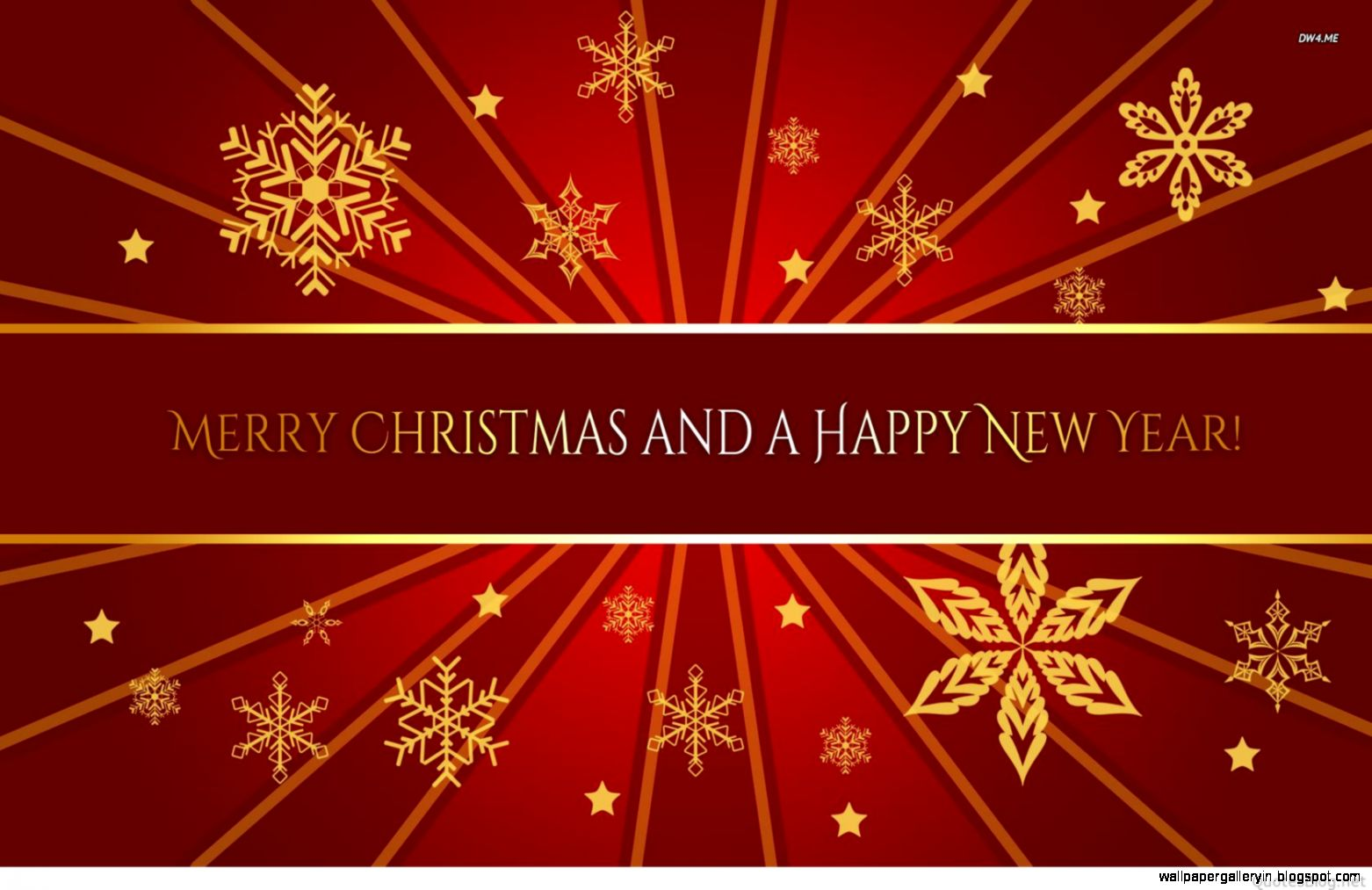 View Original Size Merry Christmas Happy New Year Holidays Wallpaper Free