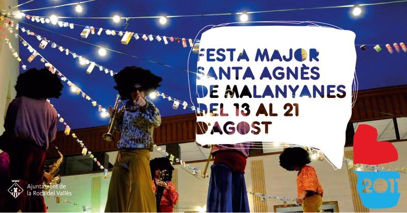 Gegants de la roca del vall s alegria s festa major 2 for Piscina santa agnes de malanyanes